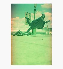 upps falling down Photographic Print