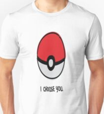 Pokéball - I Choose You T-Shirt