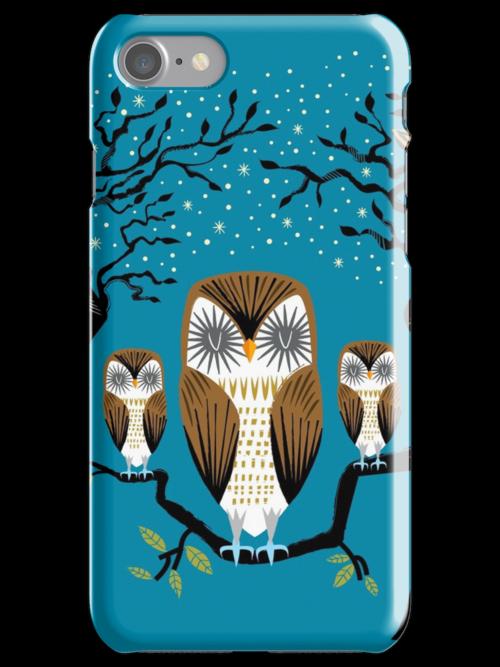 Three Lazy Owls by Oliver Lake