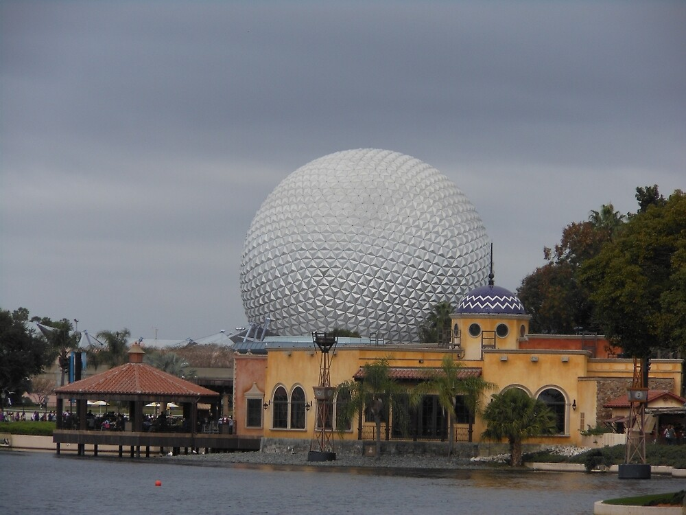 Epcot and World Showcase by elmartanna