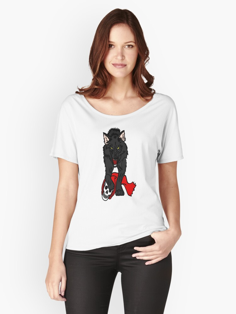 Big Bad Wolf Women's Relaxed Fit T-Shirt Front