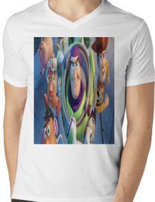 Toy Story Mens V-Neck T-Shirt