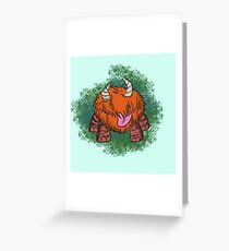 Chester, Don't Starve Greeting Card