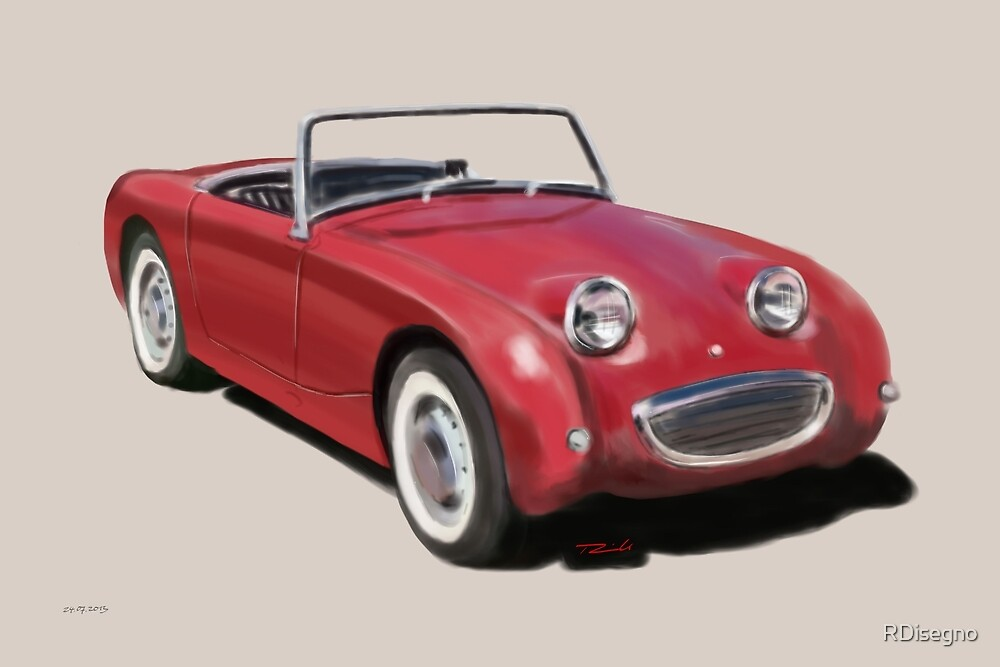 Austin Healey Sprite by RDisegno