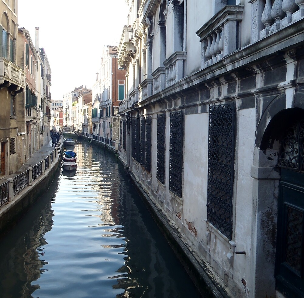 Canal - Venice by clarebearhh