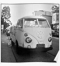VW Microbus Poster