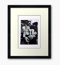 ILoveNitro Framed Print