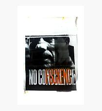NoFuckingConscience Photographic Print