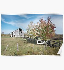 old Barn, Port Elgin Ontario, Canada Poster
