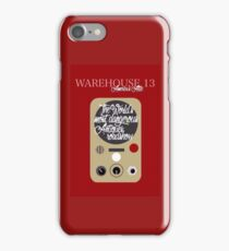 Warehouse 13 iPhone Case/Skin
