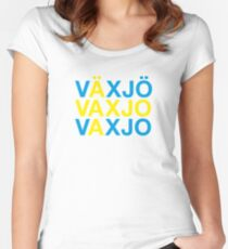 VÄXJÖ Women's Fitted Scoop T-Shirt