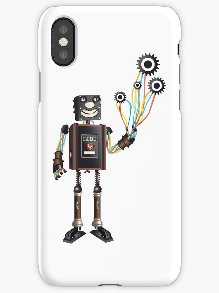 """""""Robot & His Mechanical Balloons"""" by rosell"""