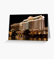 One Night In Sin City - 1 © Greeting Card