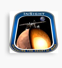 InSight Mission Operations Logo Canvas Print