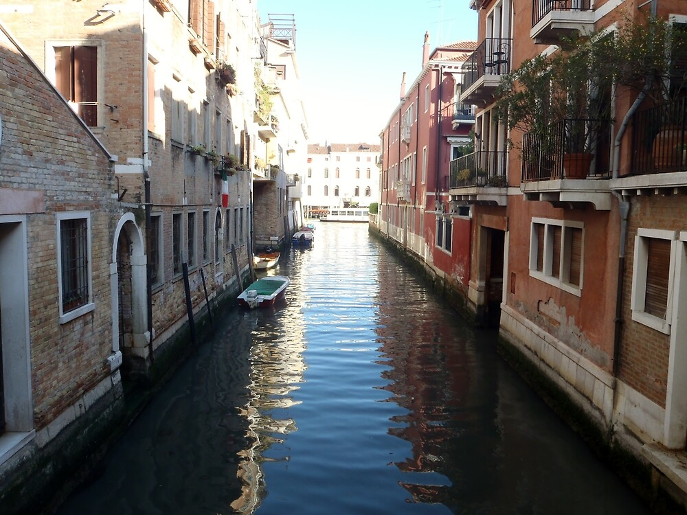 Canal 2.0 - Venice by clarebearhh