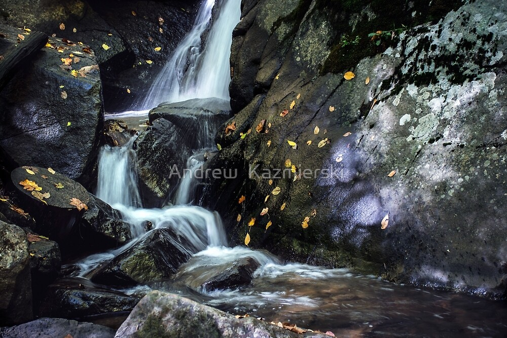 Cascading Falls by andykazie