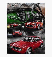 Historic Car Art Photographic Print