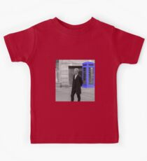 Doctor Who Mad Man In a Blue Box Kids Tee