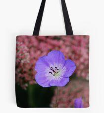 Wild Blue Flax Tote Bag