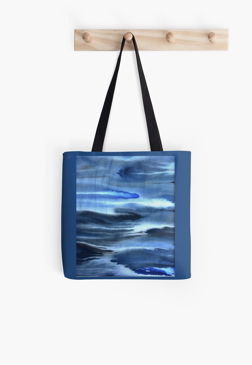 Watery blues by kainaatcreation