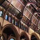 Ceiling of St. Paul's Cathedral in Buffalo by Ray Vaughan