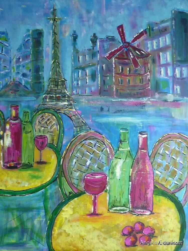 Parisian Fantasy by Angela Gannicott