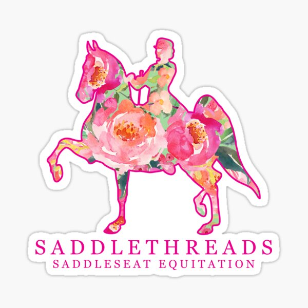 Saddleseat Equitation - Bloom Sticker
