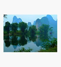 on the Li river Photographic Print