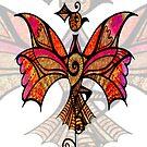 Card - Celtic Bird by MelDavies