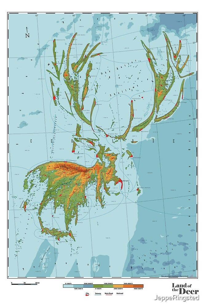 Cervidae - Land of the Deer by JeppeRingsted