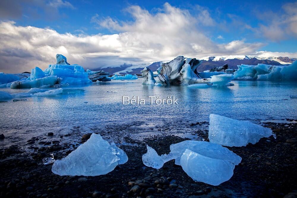 Glacier Lagoon Jökulsarlon by Béla Török