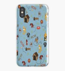 Dog House Bow Wow iPhone Case
