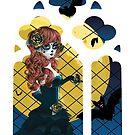 Tag des toten Mädchens und des gotischen Fensters von AnnArtshock