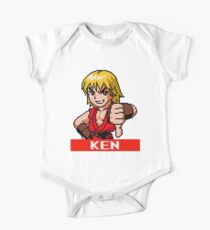 Ken Masters - Street Fighter Sprite One Piece - Short Sleeve