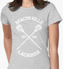 Beacon Hills Lacrosse Womens Fitted T-Shirt