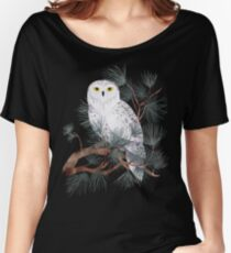 Snowy Women's Relaxed Fit T-Shirt