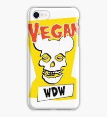 Veganism isn't a Horror Business iPhone Case/Skin