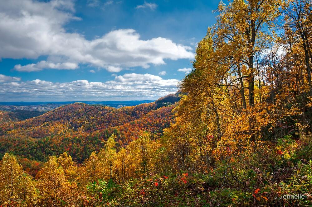 Blue Ridge Autumn by Joe Jennelle