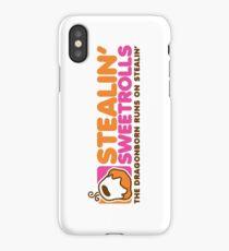 Stealin' Sweetrolls iPhone Case/Skin