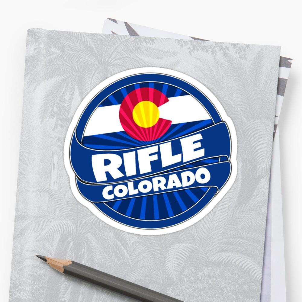 Rifle Colorado flag burst by artisticattitud