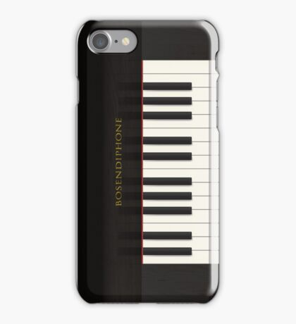 'Bosendiphone' Acoustic Piano iPhone Case/Skin