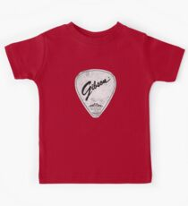 Legendary Guitar Pick Mashup Version 01 Kids Tee