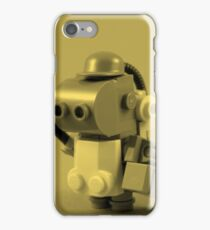 lego robot - tint iPhone Case/Skin
