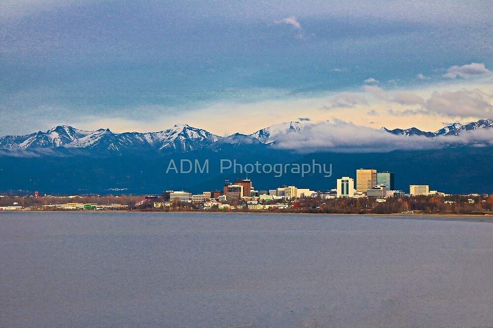 Anchorage, Alaska by Amber D Hathaway Photography