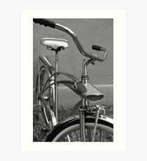 Sears SpaceLiner Vintage Bicycle Art Print