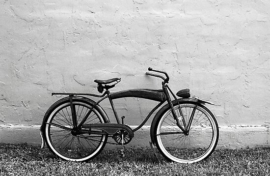 """Supreme"" Vintage Bicycle by AnalogSoulPhoto"