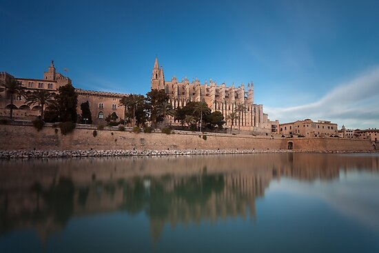 Palma Cathedral Mallorca by Leighton Collins