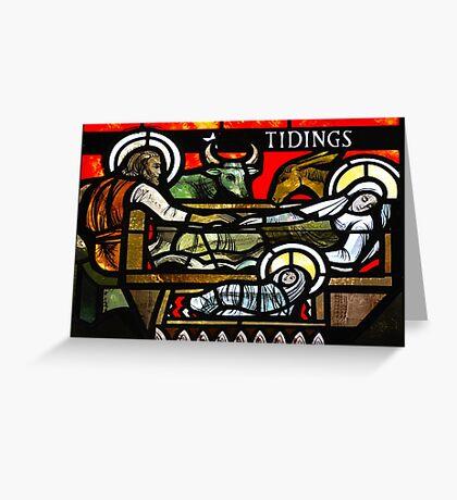 Tidings Greeting Card