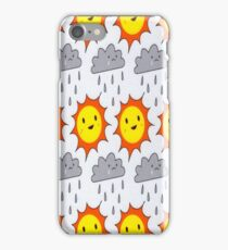 Asking For Trouble Sun and Rain iPhone Case/Skin