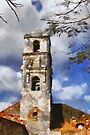Church in Trinidad, Cuba by David Carton
